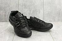 Кроссовки A 118-15 (Nike Air Max 98 x Supreme) (весна-осень, мужские, кожа прессованая, черный), фото 1