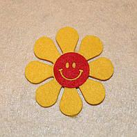 Высечка Смайлик Солнышко-1  383