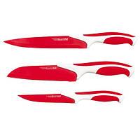 Набор ножей с антипригарным покрытием 3 предмета  5171 купить набор кухонных ножей