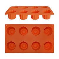 Форма силиконовая для запекания и замораживания 29*17*5см  7722