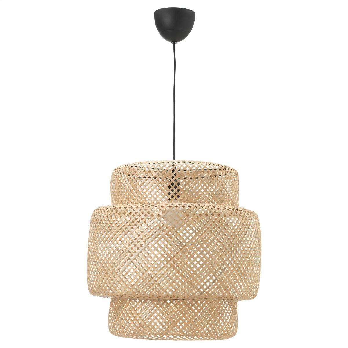 подвесной светильник Ikea Sinnerlig бамбук 70311697 купить в