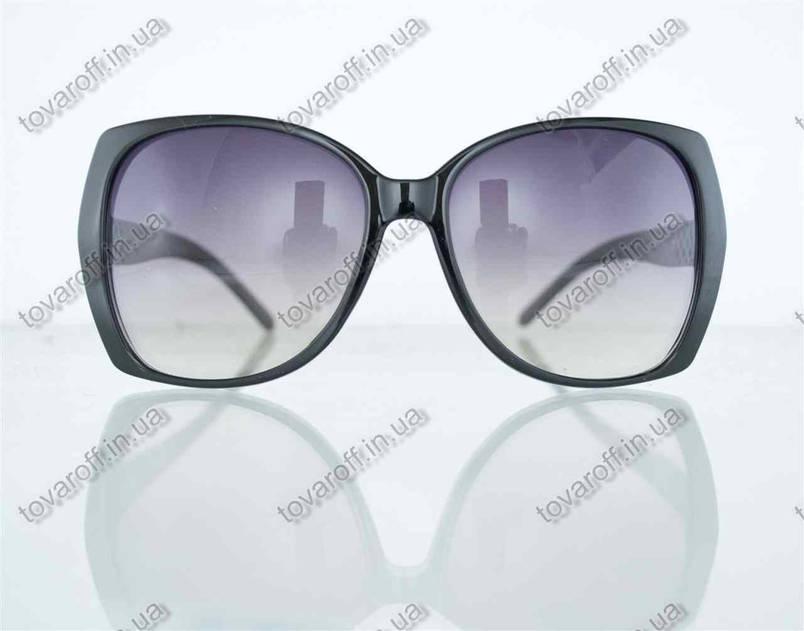Очки женские солнцезащитные - Черные - 7704, фото 2