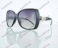 Оптом очки женские солнцезащитные - Черные - 7704, фото 1