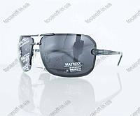 Оптом очки мужские сонцезащитные поляризационные - Черно-золотые - 08531, фото 1