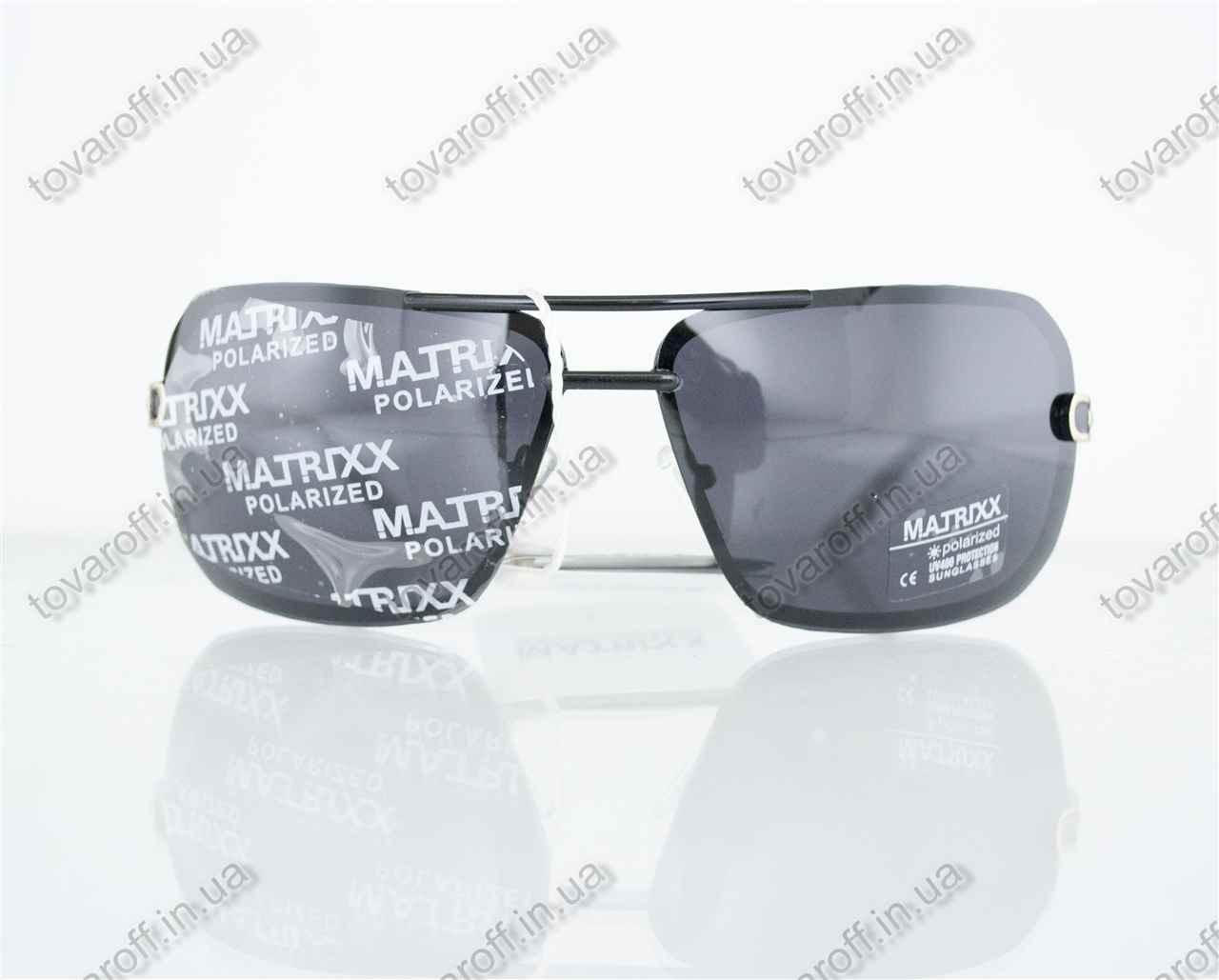 Оптом очки мужские сонцезащитные поляризационные - Черные - 08531