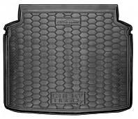 Коврик в багажник Chery Tiggo 7 2017 - черные, пластиковые (Avto-Gumm, 211677) - штука