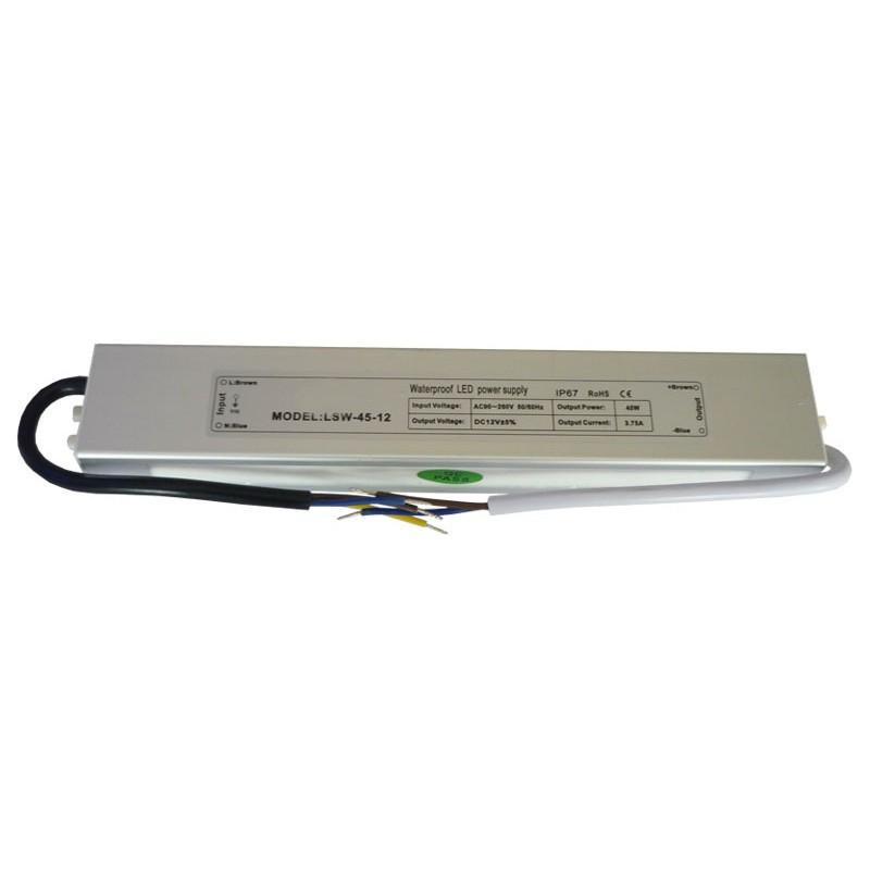 БП герметичный 12V СТАНДАРТ 3A 36W IP65 алюминий (LT)