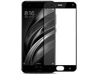 Защитное стекло с рамкой для Xiaomi Mi 6 black