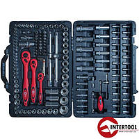 "Набор инструмента 1/2"", 1/4"", 3/8"" 151ед. Intertool"