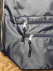Рюкзак мешок спортивный Синий с синим замком, фото 2