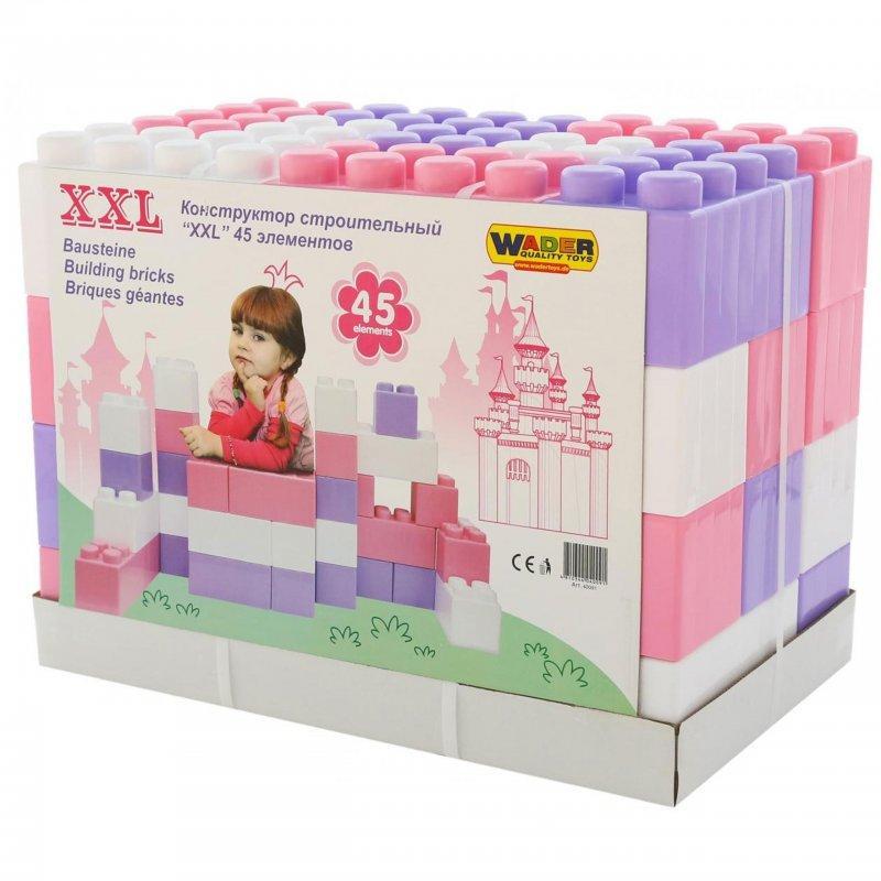 Набір блоків Wader XXL з елементів 45