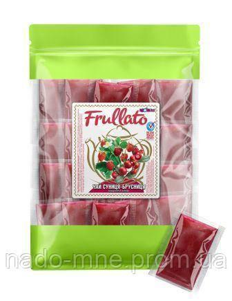 Чай натуральный концентрированный земляника-брусника ТМ Frullato, 1 шт - 40