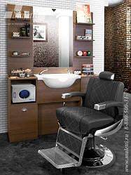 Чоловічі перукарські крісла Barber