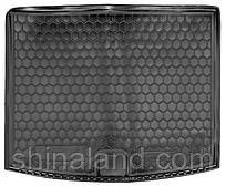 Коврик в багажник Vw Touareg II 2010 - 2018 черные, полиуретановые (Avto-Gumm, 111433) - штука