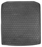 Коврик в багажник Skoda SuperB III (B8) (лифтбэк) 2015 - черные, полиуретановые (Avto-Gumm, 111515) - штука