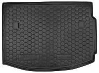 Коврик в багажник Renault Megane III (хетчбэк) 2008 - 2016 черные, полиуретановые (Avto-Gumm, 111361) - штука