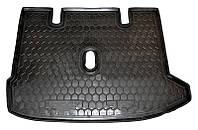 Коврик в багажник Renault Lodgy 2012 - черные, полиуретановые (Avto-Gumm, 111357) - штука