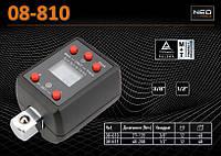 """Адаптер динамометрический цифровой 3/8"""", 27-135Нм., NEO 08-810"""