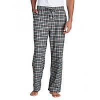 Мужские пижамные штаны Eddie Bauer Mens Flannel Sleep Pants GREY