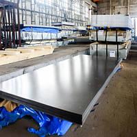 Лист нержавеющий AISI 304 0,8мм (1,25х2,5м) BA+PVC  лист нж, листы н/ж, нержавейка, фото 1