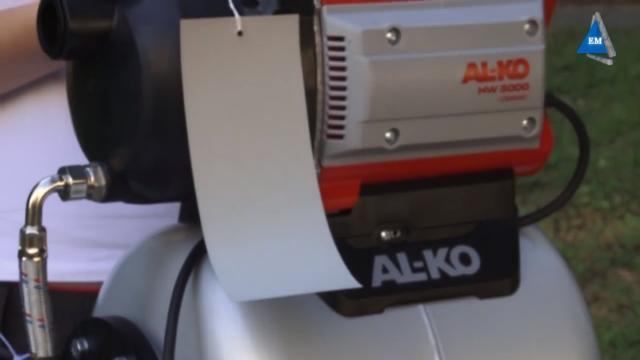 Эксплуатация насосной станции AL-KO HW 3000 Classic
