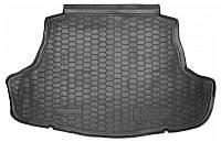Коврик в багажник Toyota Camry (XV70) 2017 - черные, полиуретановые (Avto-Gumm, 111675) - штука