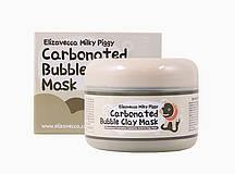 Глиняно-пузырьковая, кослародная маска для лица Elizavecca Milky Piggy Carbonated Bubble Clay Mask 100 мл