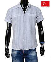 Летняя рубашка с коротким рукавом