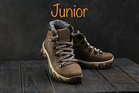 Ботинки Twics К2 (Columbia) (зима, подростковые, кожа, оливковый)