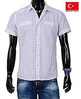 Летняя рубашка-тенниска с коротким рукавом