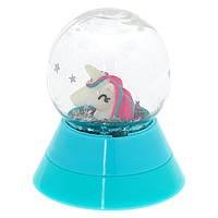 Блеск для губ детский с ароматом «Единорог в шарике» фирмы Claire s