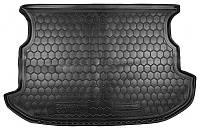 Коврик в багажник Ssangyong Korando III (дорестайл) 2010 - 2013 черные, пластиковые (Avto-Gumm, 211376) - штука