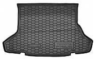 Коврик в багажник Toyota Prius III 2009 - черные, пластиковые (Avto-Gumm, 211599) - штука