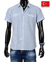 Летняя рубашка с коротким рукавом на жаркую погоду.