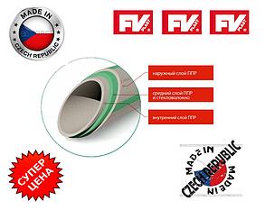 Полипропиленовые трубы FV-PLAST PN16 Faser d20x2.8 со стекловолокном. Производство ЧЕХИЯ !!!, фото 2