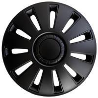 Колпаки на колеса R14 черные, Дорожная карта REX (DK-R14RB) - штука