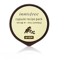 Ночная маска для лица с экстрактом риса Innisfree Capsule Recipe Pack Rice