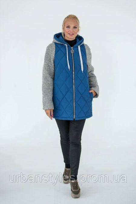 d8f98a0665c Демисезонная куртка Waukeen «Женева» Светло-синий 02602