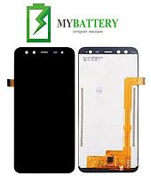 Дисплей (LCD) Blackview S8 с сенсором черный