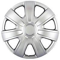 Колпаки на колеса R14 серебро, SJS (224) - комплект (4 шт.)