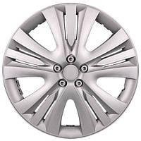 Колпаки на колеса R13 серебро, Дорожная карта LUX (DK-R13LS) - штука