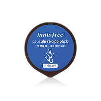 Маска-скраб для лица с морскими водорослями Innisfree Capsule Recipe Pack Seaweed