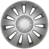 Колпаки на колеса R16 серебро, Дорожная карта REX (DK-R16RS) - штука