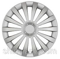 Колпаки на колеса R13 серебро, Jestic Meredian - комплект (4 шт.)