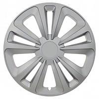 Колпаки на колеса R16 серебро, Jestic Terra (103377) - комплект (4 шт.)