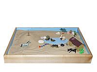 Песочница стандартная для сухого песка