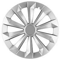 Колпаки на колеса R16 серебро, Jestic Fame (104601) - комплект (4 шт.)