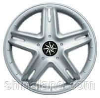 Колпаки на колеса R13 серебро, Star Vip no wheels (2832) - комплект (4 шт.)
