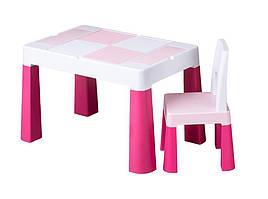 Комплект детской мебели Tega Baby Multifun (стол + стульчик)  (розовый(Pink))