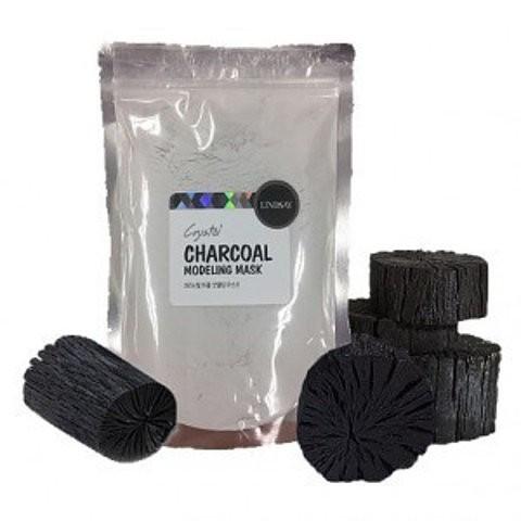 Альгинатная маска для лица с древесным углем Lindsay Premium Charcoal Modeling Mask Pack - 240 г
